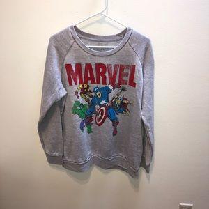 Super Soft Marvel Superhero Sweatshirt